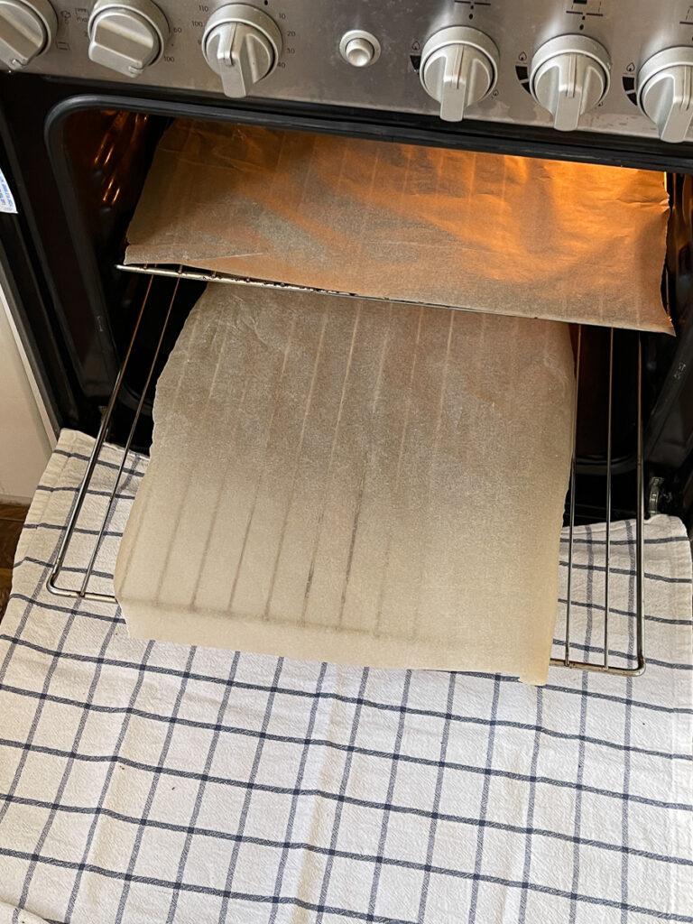 Piekarnik do pieczenia papieru