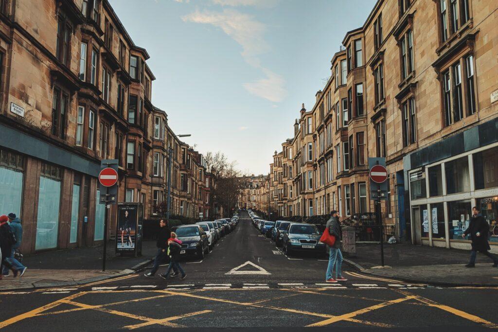 Glasgow - moda uliczna